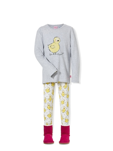 Jnr Girls Chick Pj Set