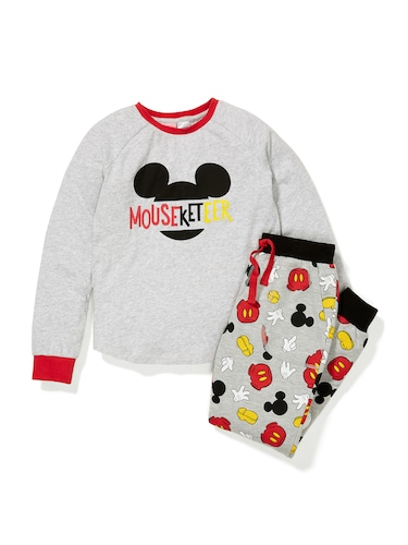 Girls Mouseketeer Pj Set