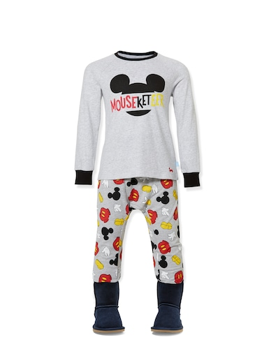 Jnr Boys Mouseketeer Pj Set