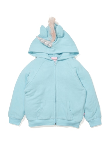 P.A. Play Jnr Girls Unicorn Hoodie