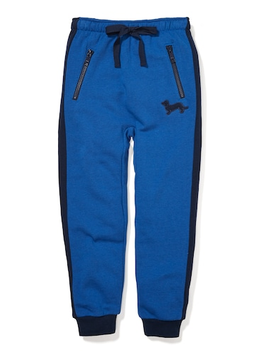 P.A. Play Jnr Boys Blue Track Pant