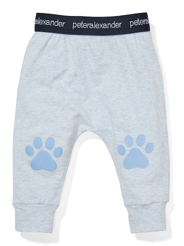 P.A. Play Baby Blue Paws Leggings
