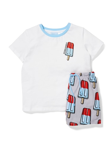 Jnr Boys Ice Pop Pj Set