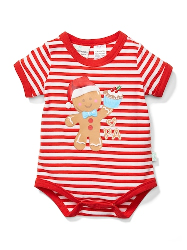Baby Gingerbread Bodysuit Cracker