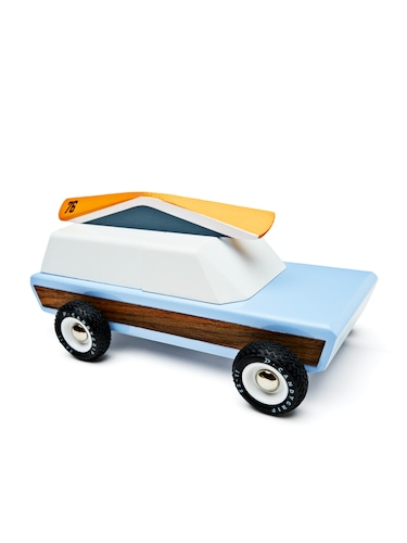Pioneer Canoe Wagon Wooden Toy