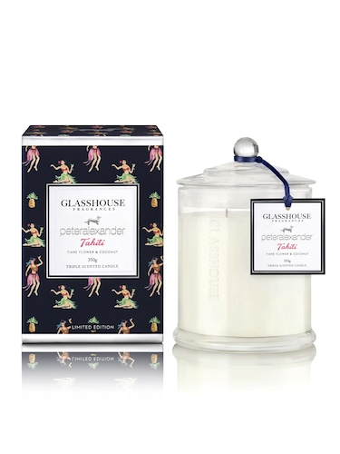 Glasshouse Fragrances Limited Edition Tahiti Candle 350G