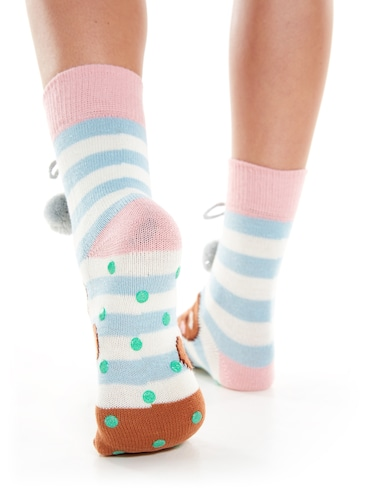Ladies Gingerbread Socks