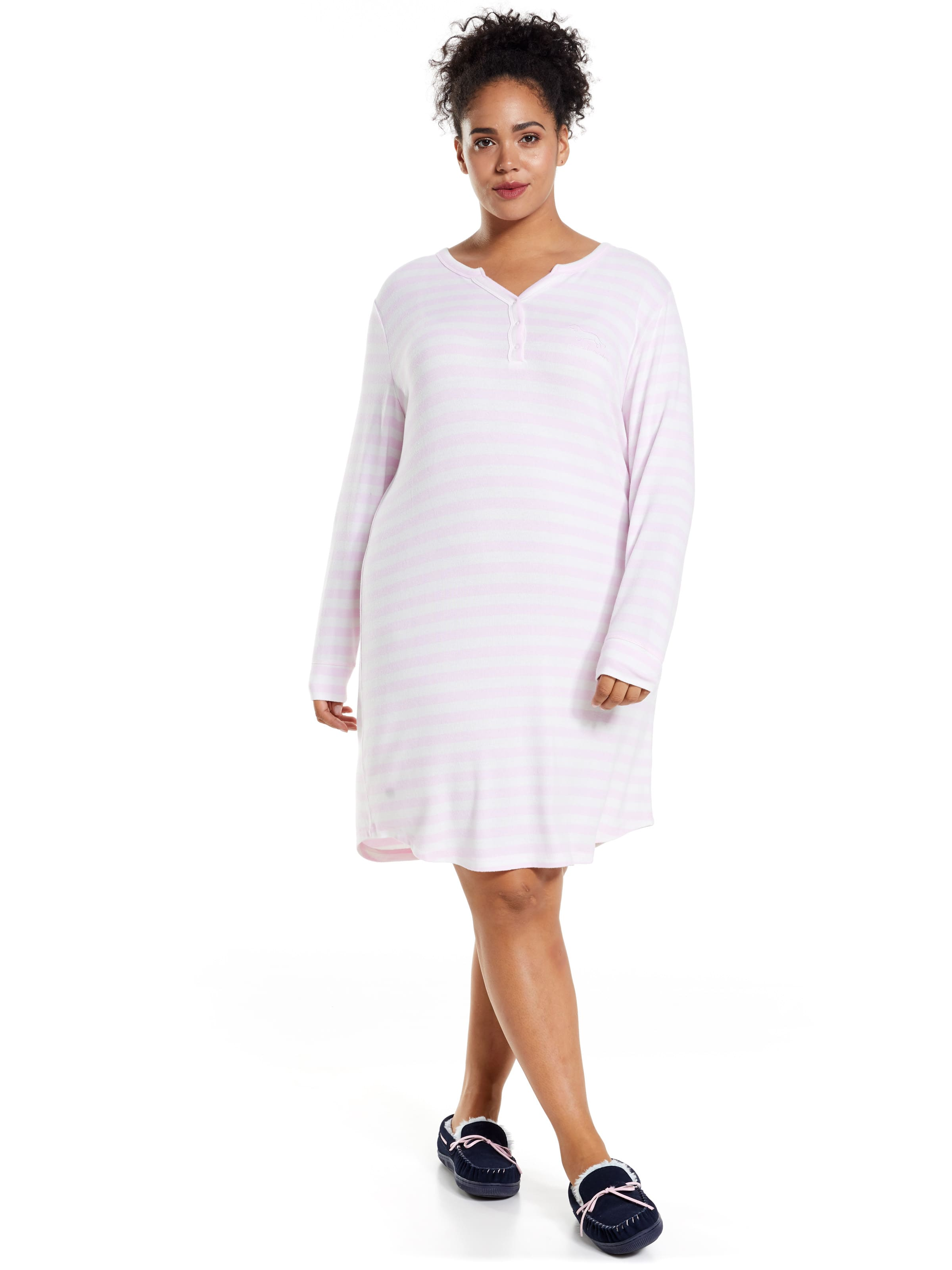 P.A. Plus Strawberries And Cream Fuzzy Nightie