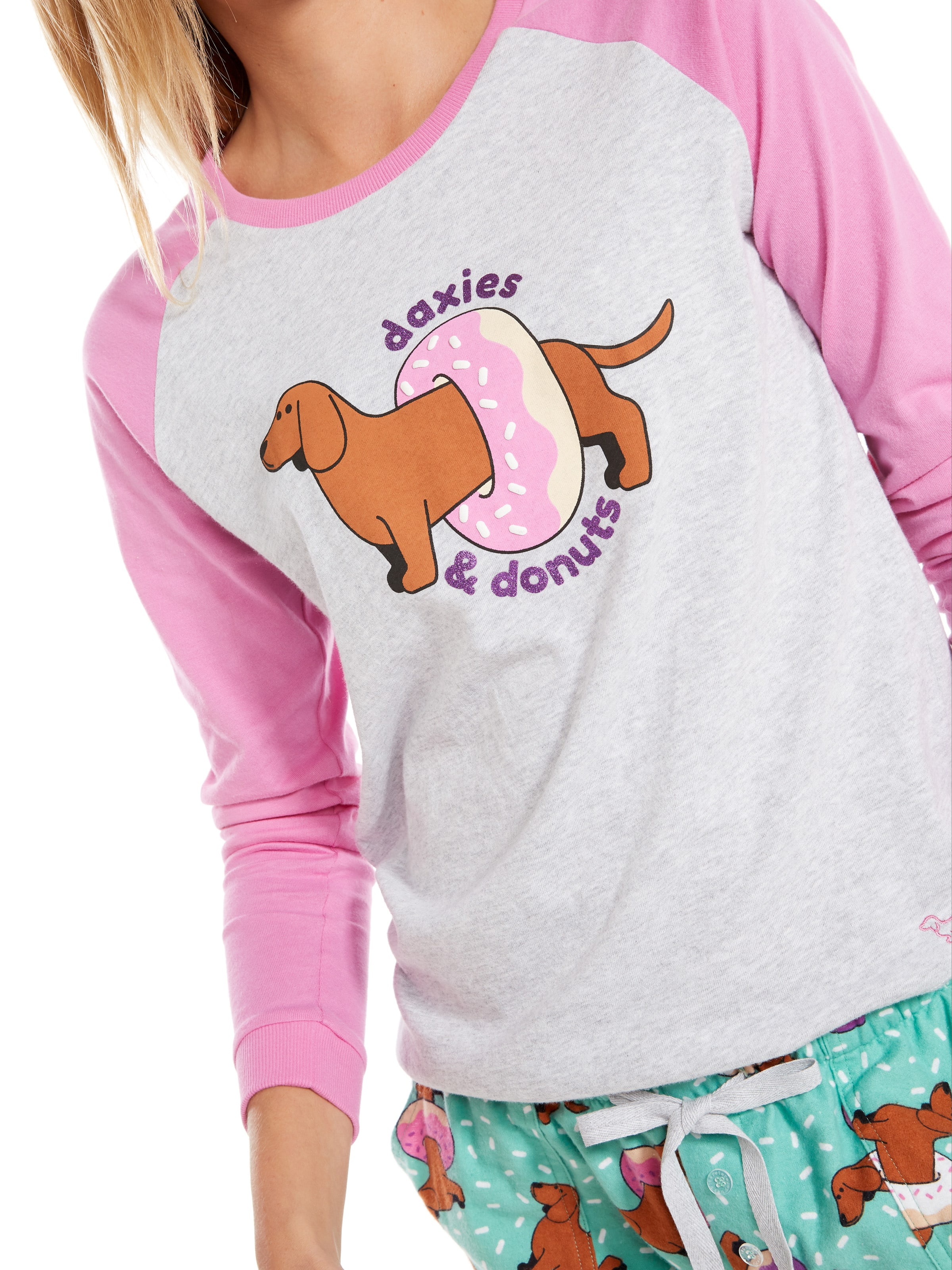 Daxies & Donuts Long Sleeve Top