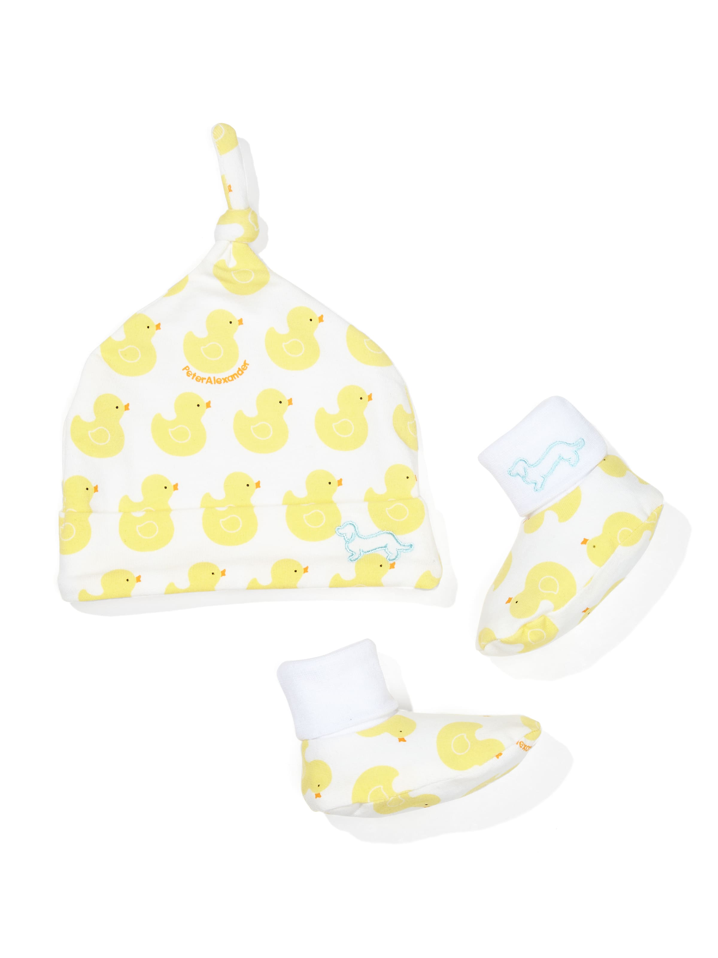 Baby Ducky Beanie & Booties Gift Pack