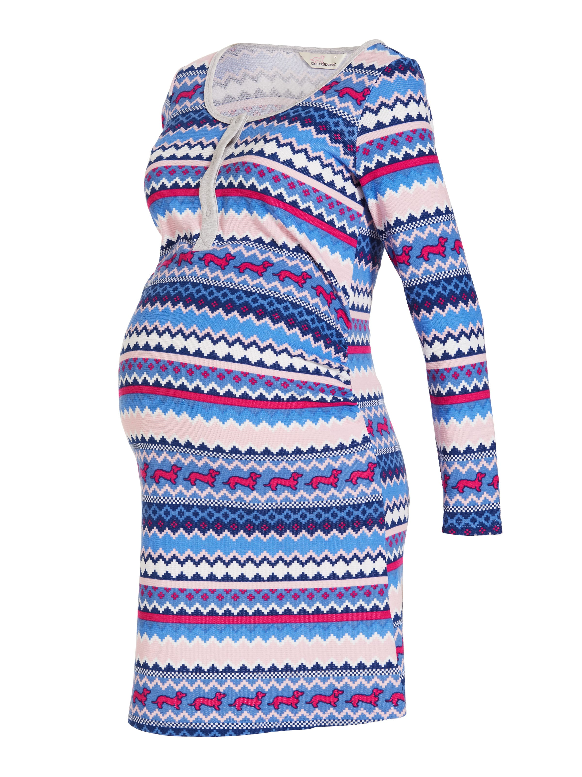 Maternity Fairisle Nightie