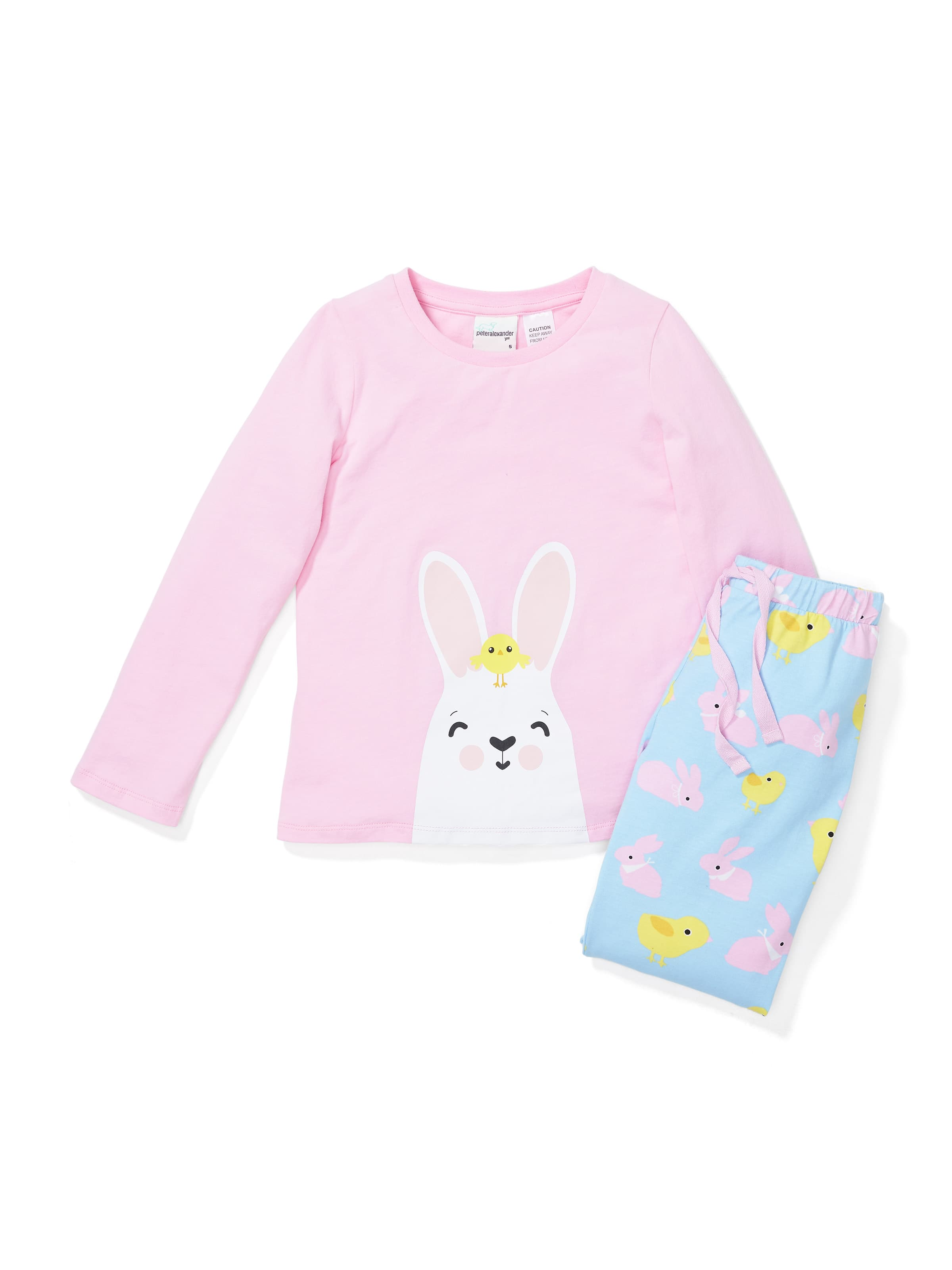 Girls Bunny Chick Pj Set