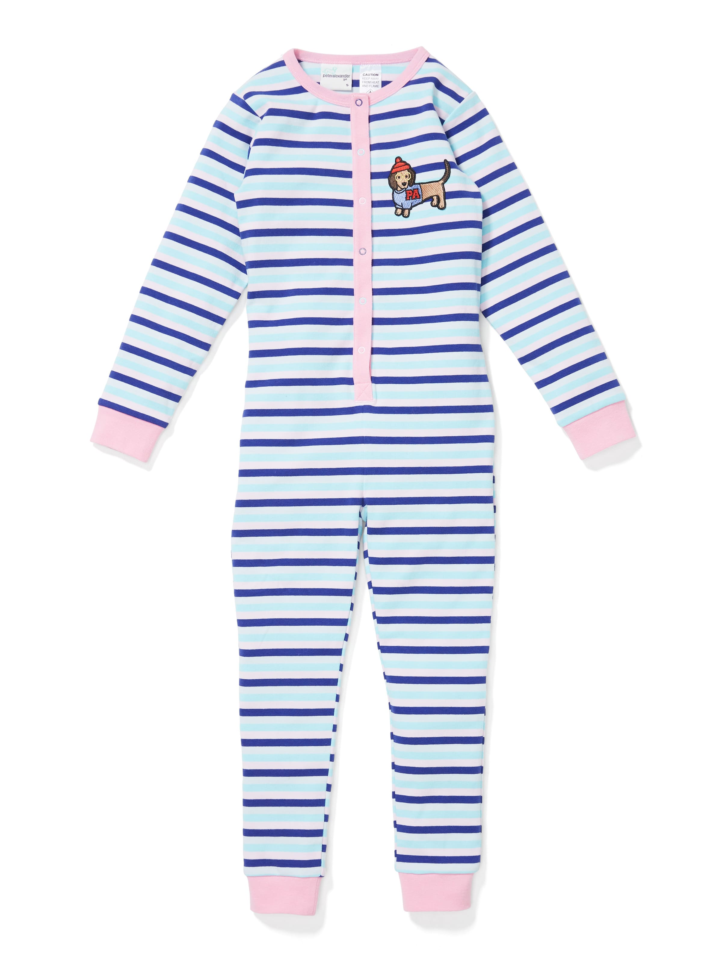 Jnr Girls Stripe Penny Onesie