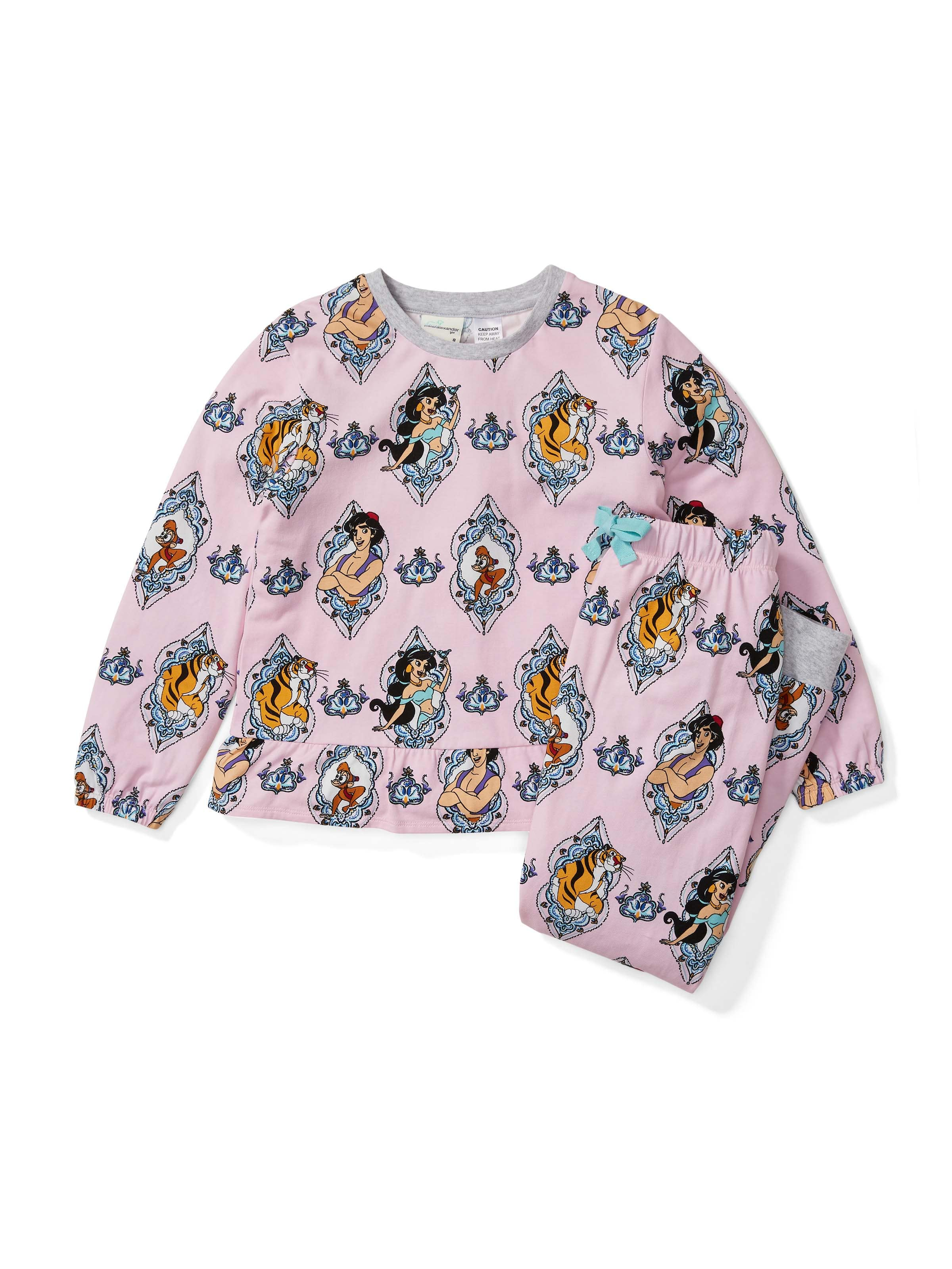 Girls Aladdin Long Pj Set