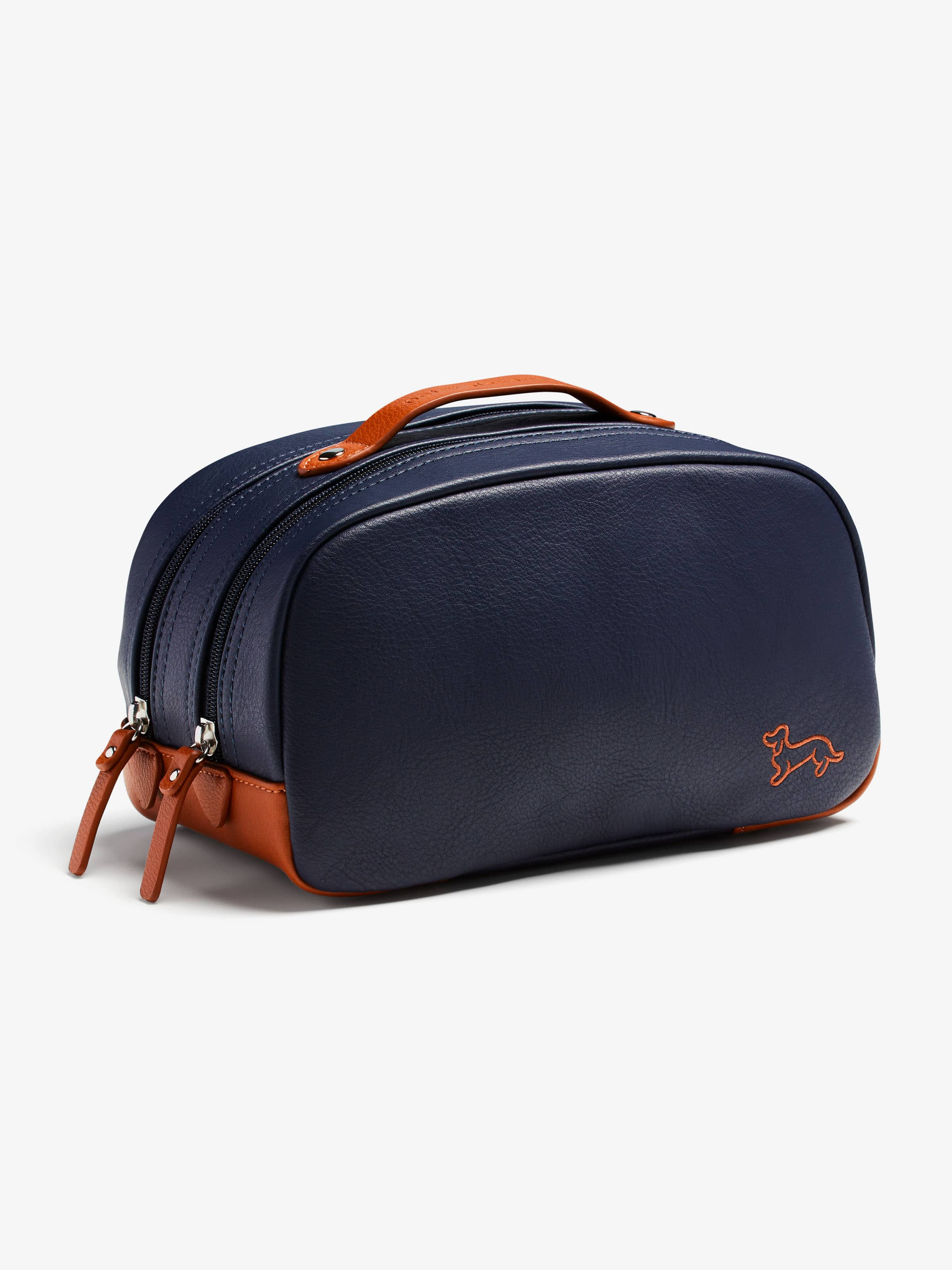 Oxford Navy Wash Bag