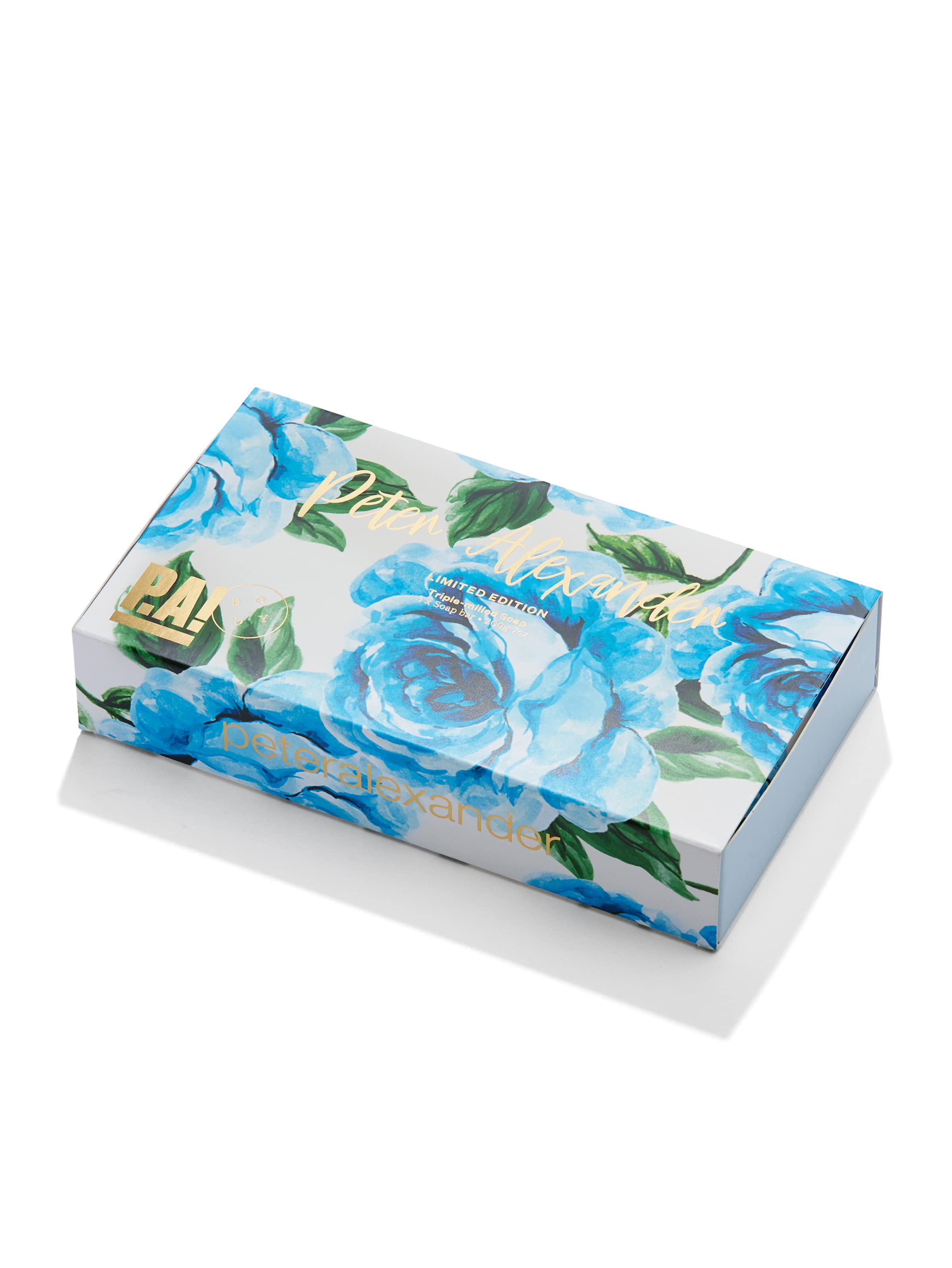Blue Rose Soap Trio