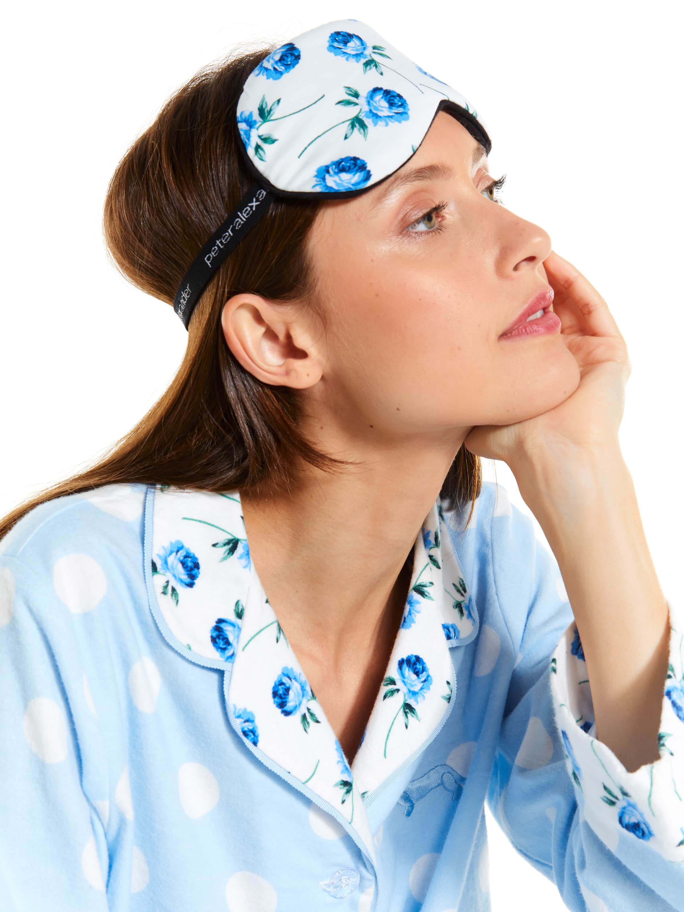 Blue Rose Eye Mask